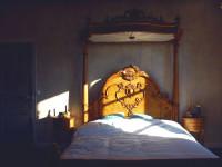 The honeymoon suite bed