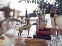 Stag place setting