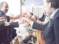 Raising a toast