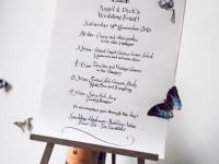 Wedding day plan
