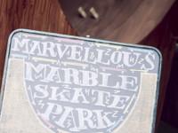 Marble skate park