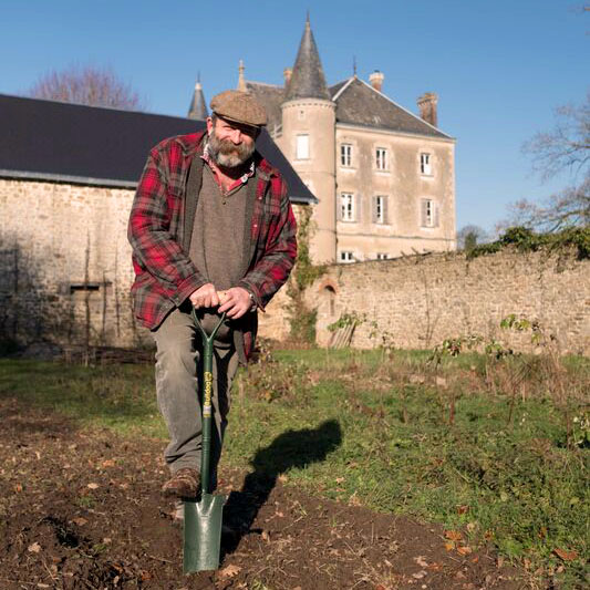 Working Garden Day at the Chateau