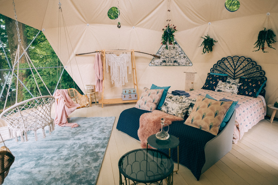Chateau Under The Stars Elegant Camping At The Chateau Out Of